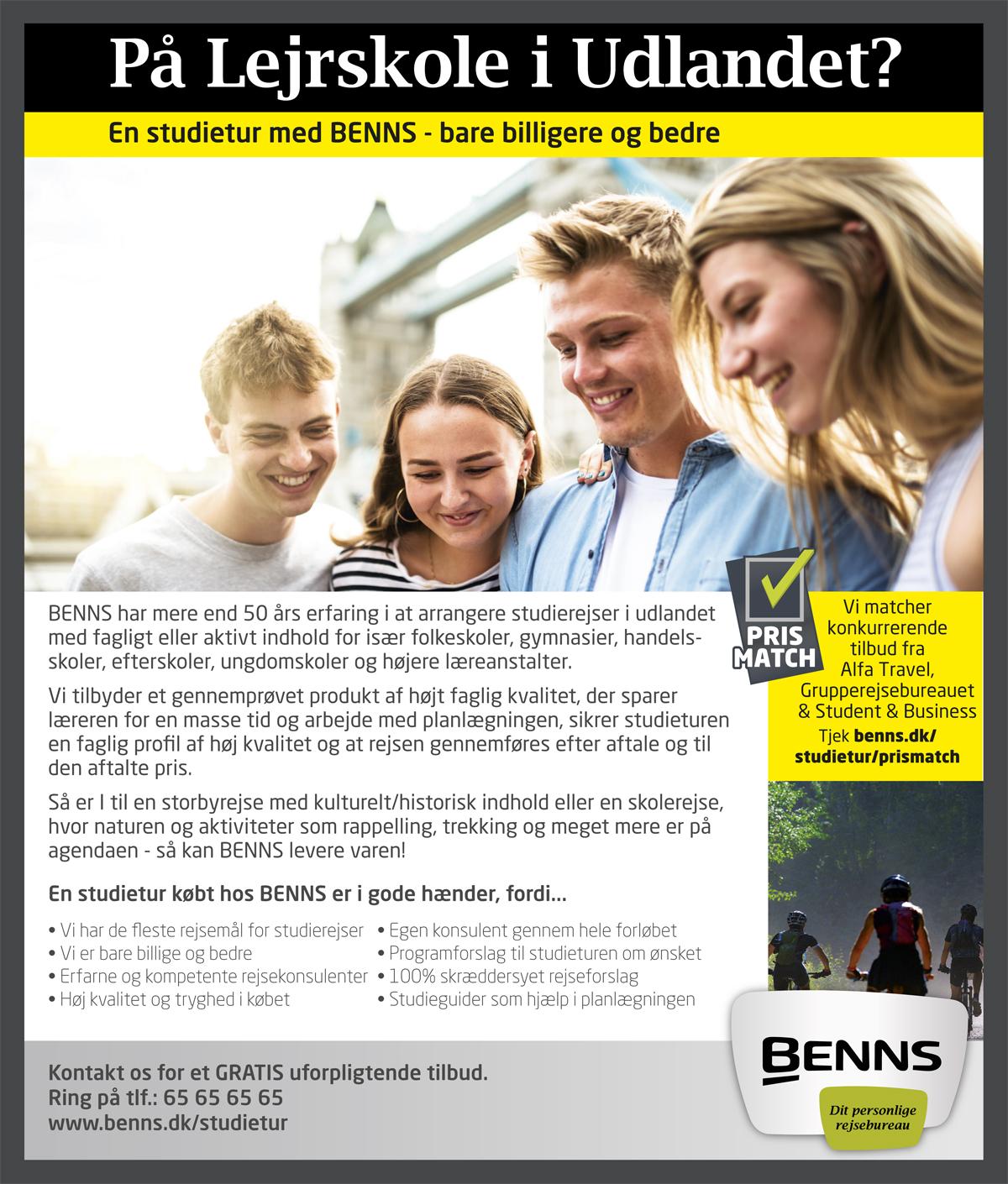 Benns-Rejser