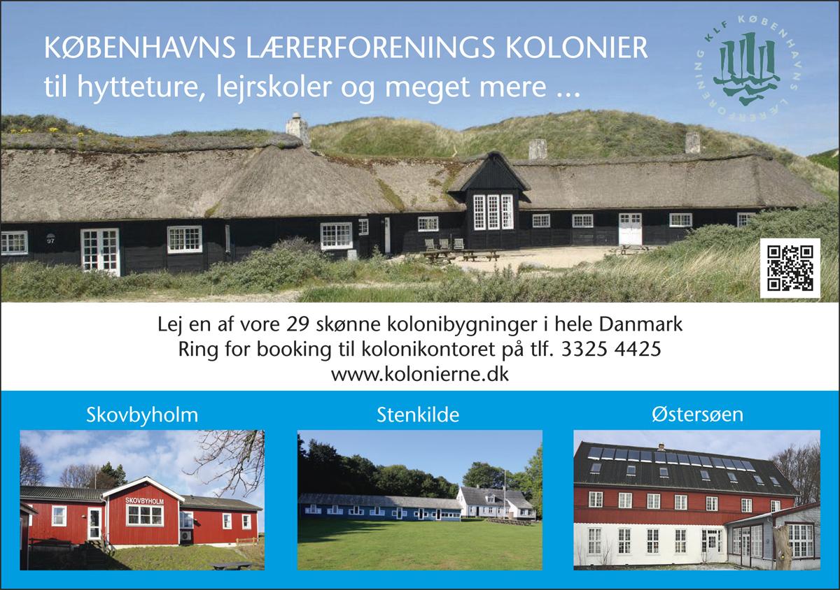 Lolland - Kolonierne